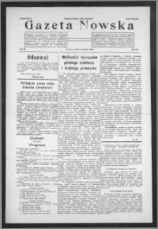 Gazeta Nowska 1930, R. 7, nr 31 + dodatek