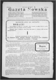 Gazeta Nowska 1930, R. 7, nr 47 + dodatek