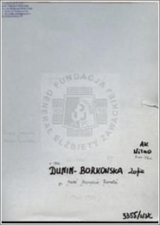 Dunin Teofila Zofia
