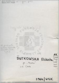 Dutkowska Elżbieta