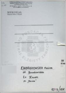 Dworakowska Halina