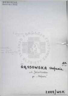 Gassowska Stefania