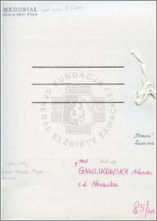 Gawlikowska