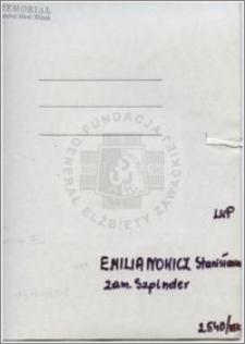 Emilianowicz Stanisława