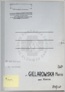 Gielarowska Maria