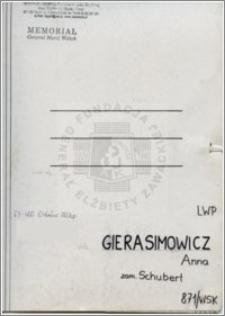 Gierasimowicz Anna