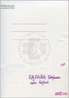 Fafara Stefania