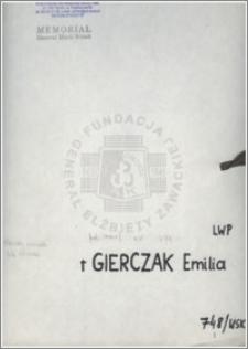 Gierczak Emilia