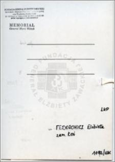 Fedorowicz Elżbieta