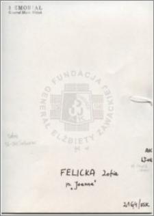 Felicka Zofia
