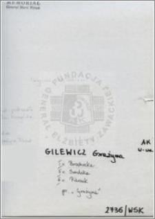Gilewicz Grażyna
