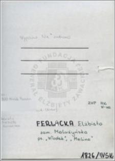 Ferlacka Elżbieta