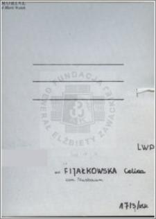 Fijałkowska Celina