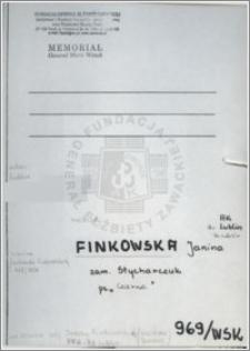 Finkowska Janina