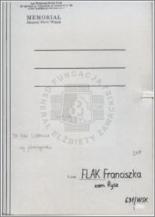Flak Franciszka