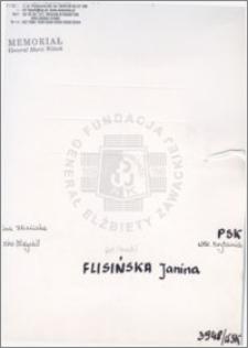Flisińska Janina