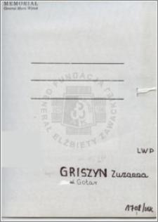 Griszyn Zuzanna