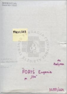 Forys Eugenia