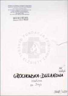 Grochowska Dulakowa Halina