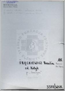 Frackiewicz Rozalia