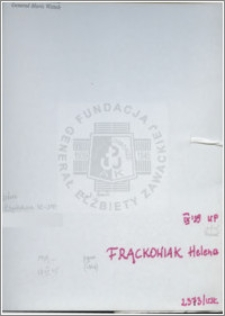 Frackowiak Helena