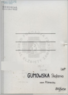 Gumowska Stefania