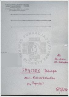 Fraczek Jadwiga