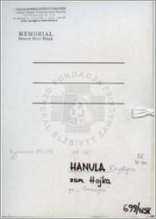 Hanula Krystyna