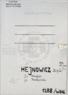 Hejnowicz Zofia