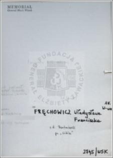Frechowicz Władysława Franciszka