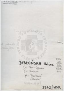 Jabłońska Halina