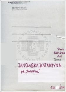 Janowska Katarzyna