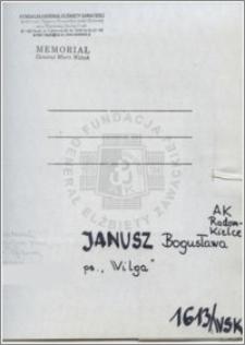 Janusz Bogusława