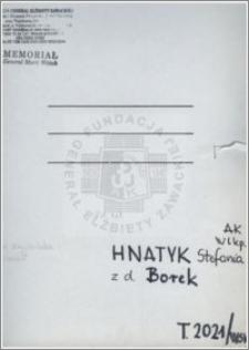 Hnatyk Stefania