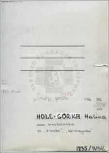 Holc Górka Halina