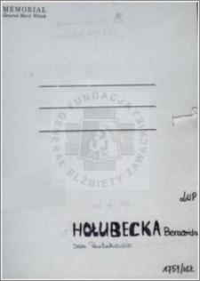 Holubecka Bernarda