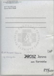 Jarosz Janina