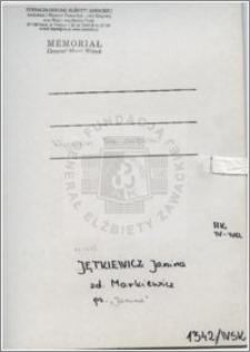 Jetkiewicz Janina