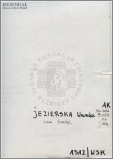 Jezierska Wanda