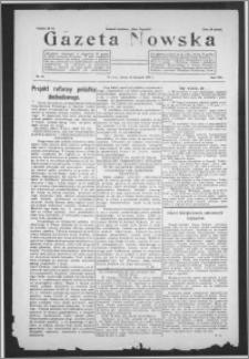 Gazeta Nowska 1931, R. 8, nr 46 + dodatek