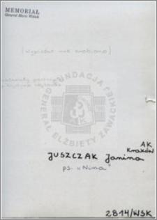 Juszczak Janina