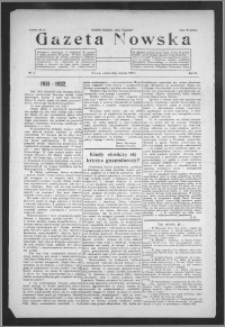 Gazeta Nowska 1932, R. 9, nr 3 + dodatek