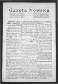 Gazeta Nowska 1932, R. 9, nr 6 + dodatek