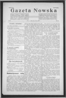 Gazeta Nowska 1932, R. 9, nr 25