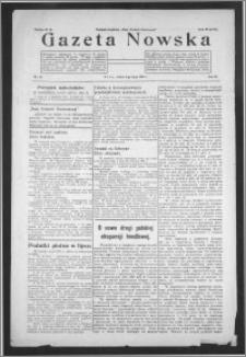 Gazeta Nowska 1932, R. 9, nr 28 + dodatek