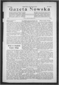 Gazeta Nowska 1933, R. 10, nr 2 + dodatek