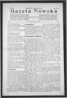 Gazeta Nowska 1933, R. 10, nr 3 + dodatek