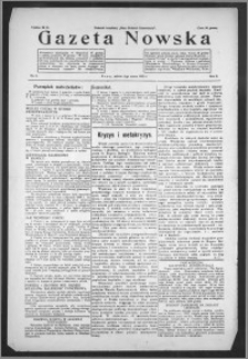 Gazeta Nowska 1933, R. 10, nr 9 + dodatek