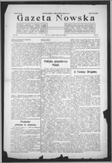Gazeta Nowska 1933, R. 10, nr 10 + dodatek