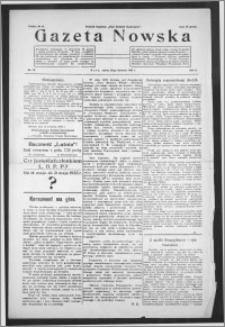 Gazeta Nowska 1933, R. 10, nr 16 + dodatek